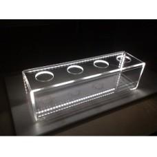 Pudelihoidja LED-valgustusega